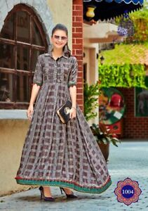 combo Indian Bollywood Designer Pakistani gown Kurta Kurti women ethnic dress