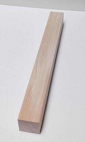 1 Kantholz 6x6cm stark Tischfuß Drechselholz Kantholz Fichte//Tanne massiv.
