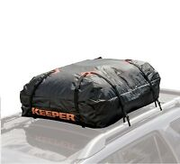 Rooftop Cargo Bag Carrier Roof Top Storage Strap Soft Luggage Travel Rack Suv