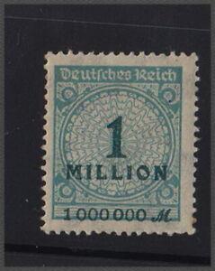 Deutsches Reich 1923 - 1 milione di Mark nr 314 a P HT