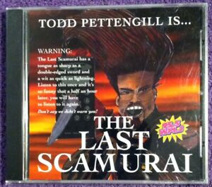 New-amp-Sealed-CD-THE-LAST-SCAMURAI-Todd-Pettengill-WPLJ-New-York-Disc-Jockey
