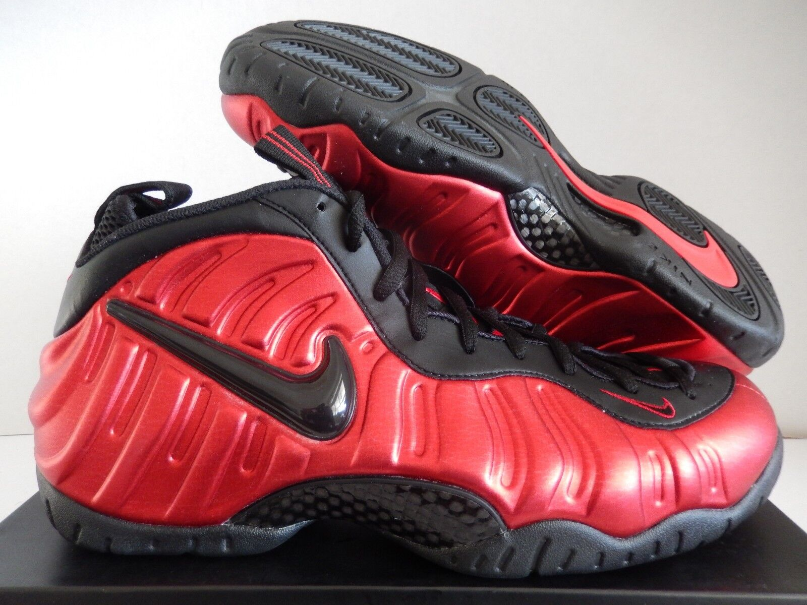 NIKE AIR FOAMPOSITE PRO UNIVERSITY RED-BLACK Price reduction New shoes for men and women, limited time discount