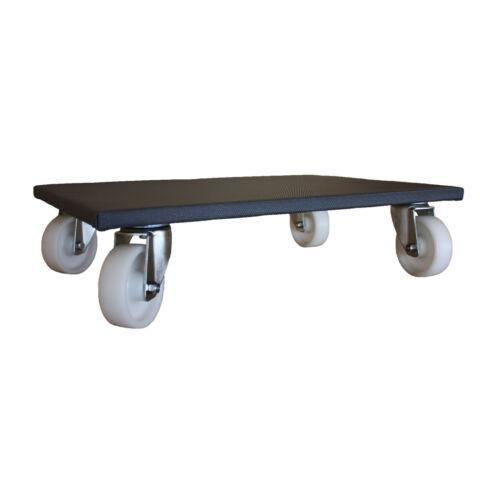 Möbelroller Möbelhund Transportroller Rollbrett Gummi Kunststoff Lenkrollen A1