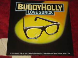 BUDDY HOLLY - Love Songs German Press - Italia - BUDDY HOLLY - Love Songs German Press - Italia