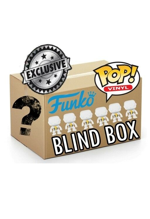 Funko POP  BLIND BOX 4 Regular + 2 EXCLUSIVE
