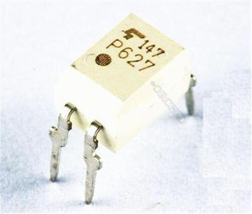10Pcs Dip TLP627-1 TLP627 TLP627 P627 Photocoupler Optocoupler ay
