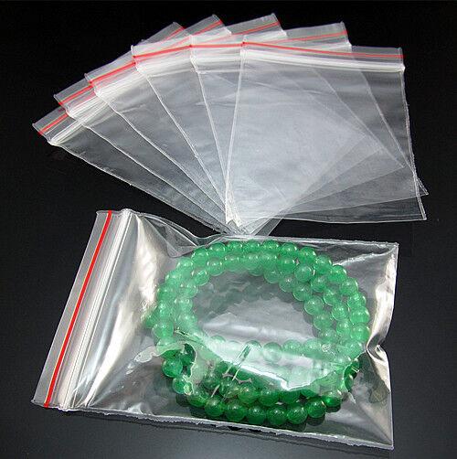 Wholesale Free Zip Locking Sealing Plastic Clear Bags Package Ziplock Multi size