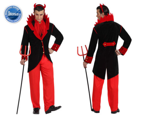 Costume diavolo uomo Halloween Carnevale demonio devil satana