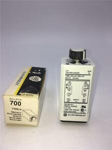 Details about Allen-Bradley 700-HS12AA24 Type H Series A Time Delay Relay,  24VAC In, 0 1-10