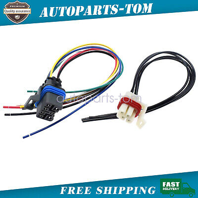 2x Neutral Safety Switch Connector 7-PIN /& 4-PIN For 4L60E 4L80E 4L65E 88862288,15305887