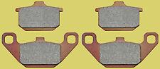 Kawasaki VN1500 front or rear brake pads sintered (1988-1992) FA85HH style 2 prs