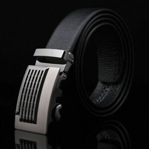 Luxury-Silver-Men-Automatic-Metal-Belt-Buckle-Without-Belt-Strap-Wristband-Sale