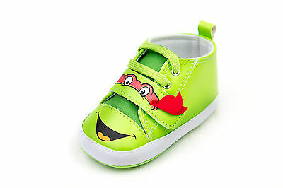 Teenage Mutant Ninja Turtles Lowtop Babies Crib shoe Infant