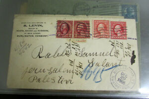 Palestine-Cover-Lot-of-10-Rare-Group-Turn-of-the-Century