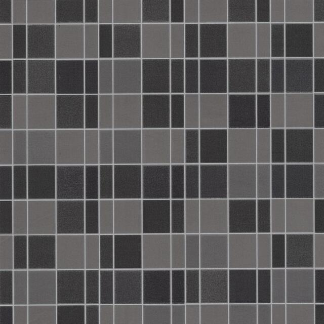 P&S International Tile Wallpaper Faux Effect Realistic Embossed Textured Black