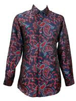 Men's Royal Prestige Silky Paisley Printed Jacquard Fashion Dress Shirt