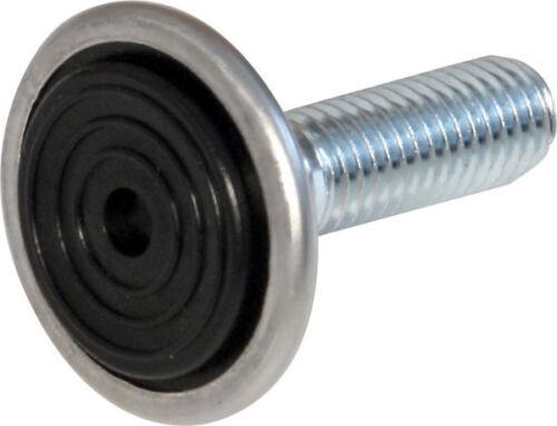 4er Set Regulierschrauben Ausgleichschrauben M10 für Ø 30mm /& 25x25mm Tischbeine
