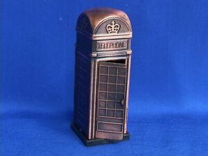 London-Phone-Booth-Pencil-Sharpener-Bronze-Color-Metal-Souvenir