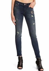 Religion Dusty Distresse Midrise Skinny Sz28 Halle Stretch Haze Patched Nwt True 889347613100 hrQdtsC