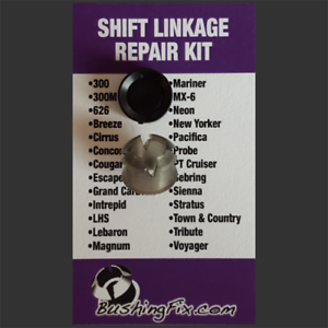 EASY INSTALLATION! Chrysler Sebring Shift Cable Repair Kit with bushing
