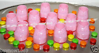 24 Pc Pink Baby Shower Shoe Booties Boots Girl Recuerdos De Nina Rosa Zapatos