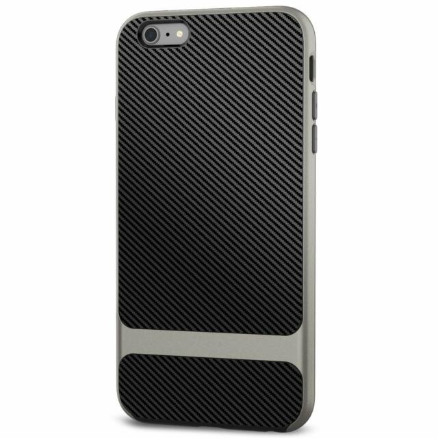 e95c83fbfd JETech Mac Apple iPhone 6s 6 Slim Protector Case Cover Carbon Fibre Design
