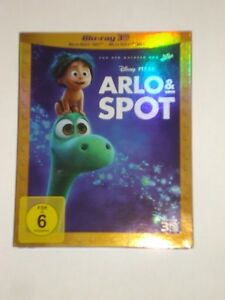 Arlo & Spot 3D + 2D Blu Ray Disney im Schuber