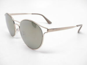 f8dc0f4a94f8 Authentic Prada SPR 62S ZVN1C0 Pale Gold w Light Brown Mirror Gold ...