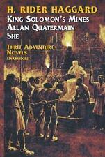 King Solomon's Mines, Allan Quatermain, She by H. Rider Haggard (1951,...