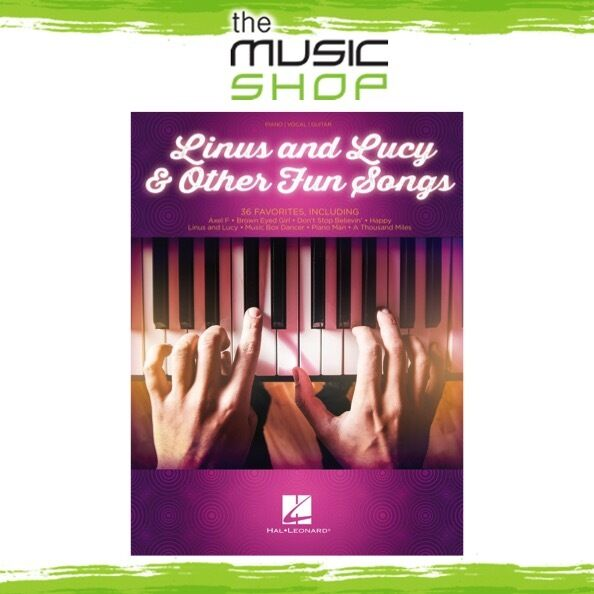 New Linus and Lucy & Other Fun Songs PVG Music Book - Piano Vocal Guitar