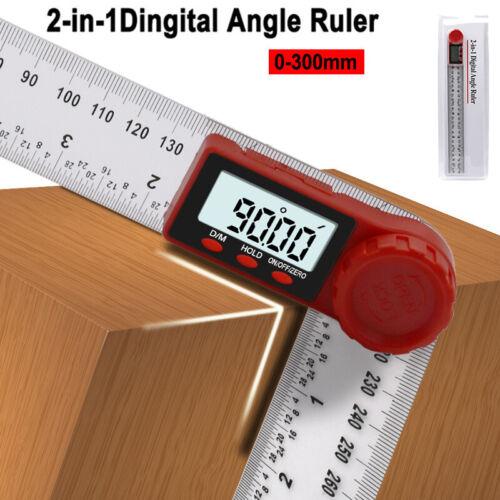 Digital Meter Angle Inclinometer Electron Goniometer Protractor Measuring 11.8/'/'
