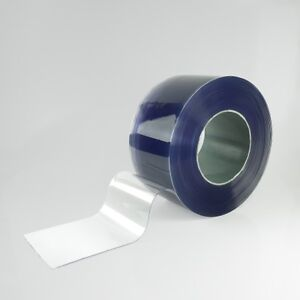 Clear Flexible PVC (200mm x 2mm x 50 metres) - Perfect for Strip Curtains IPSL