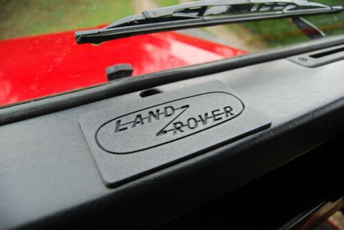 Land Rover Defender Ashtray Cover Blanking Plate with Logo