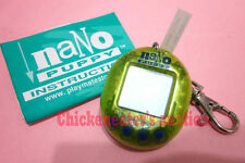 97' PLAYMATE TOYS VIRTUAL PET NANO PUPPY NEON GREEN +INST *NO RESET* POCKET GAME