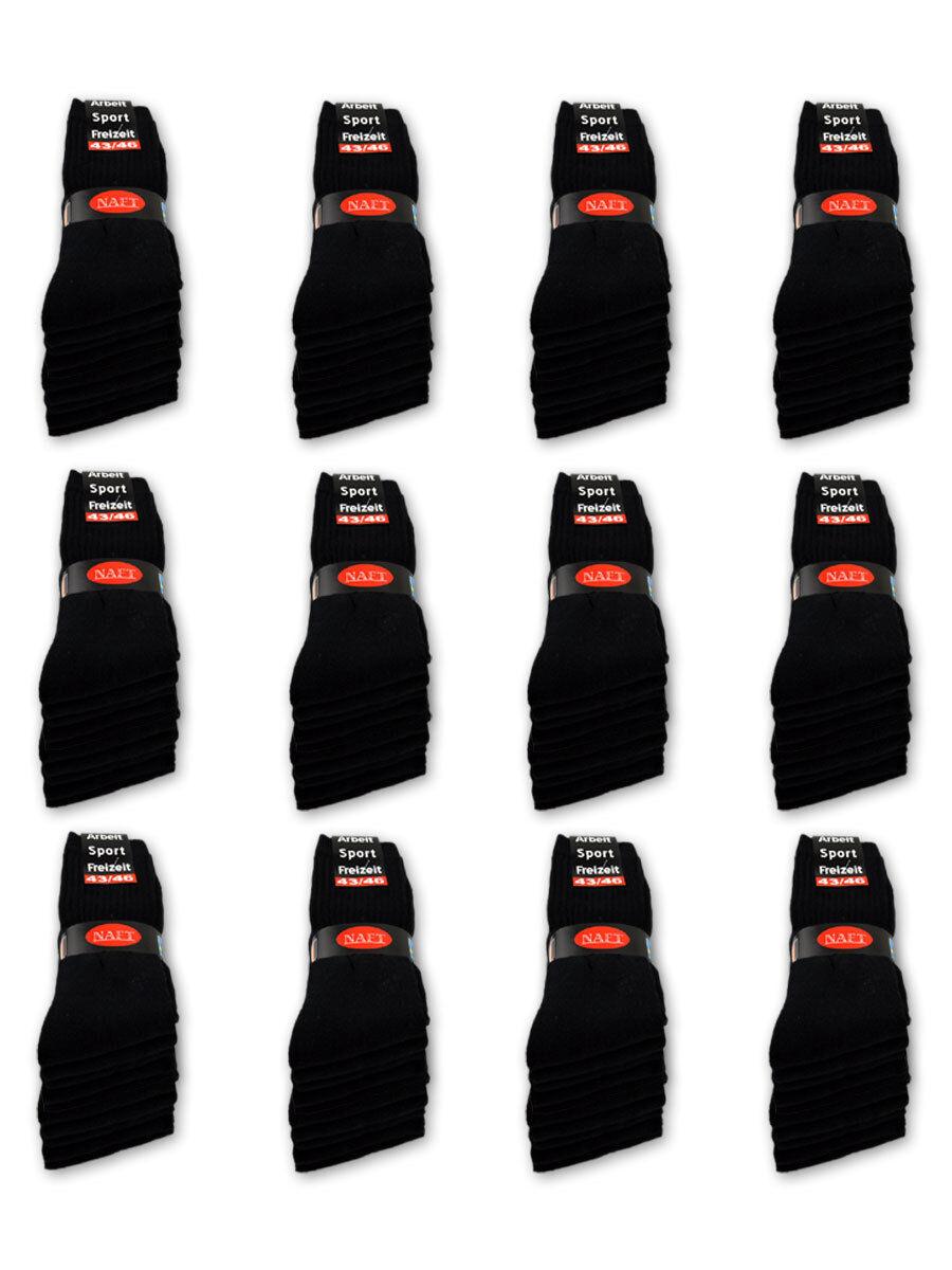 10 hasta 120 X Par Calcetines de Deporte Trabajo Tenis black whiteo