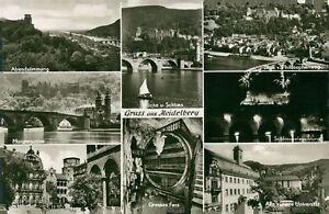 Ansichtskarte Gruß aus Heidelberg (Nr.9211) - Eggenstein-Leopoldshafen, Deutschland - Ansichtskarte Gruß aus Heidelberg (Nr.9211) - Eggenstein-Leopoldshafen, Deutschland