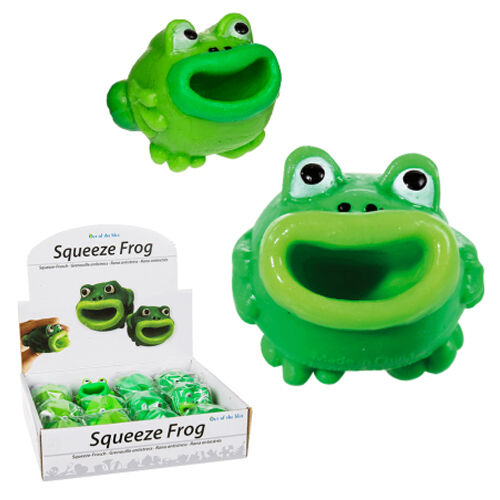 5CM squeeze grenouille pop out langue drôle cadeau jouet enfants blague fête sac remplissage noël