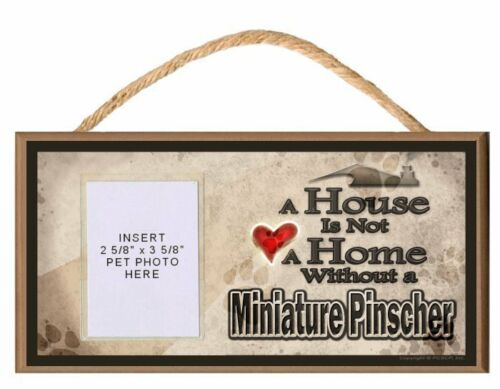 Pick Your Dog Breed A House is Not a Home Without a Wooden Dog Sign
