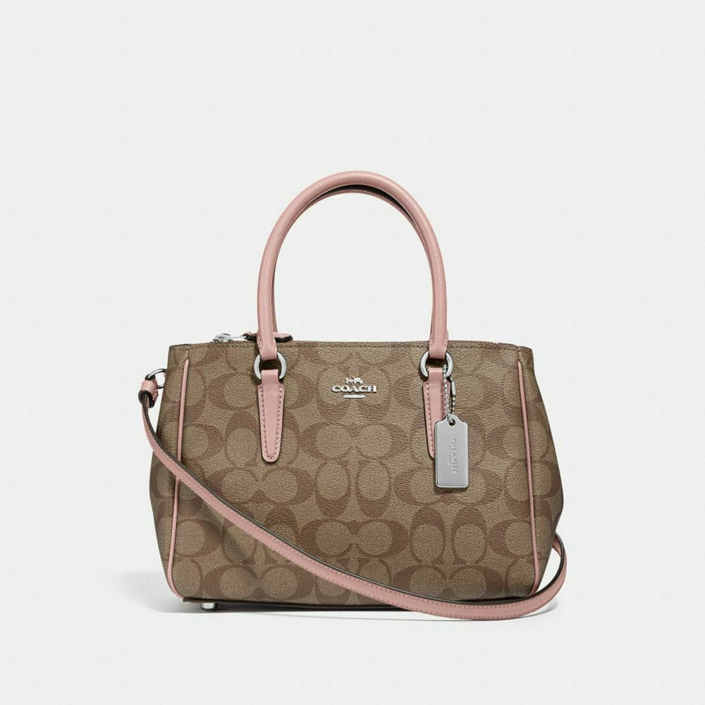 Details About Coach F44962 Mini Surrey Carryall Crossbody Bag F67027