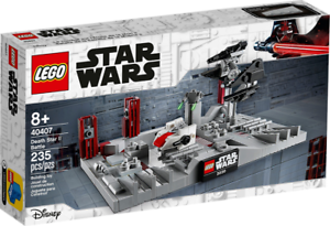 NEW Factory sealed box* LEGO 40407 Star Wars Death Star II Battle *NEW