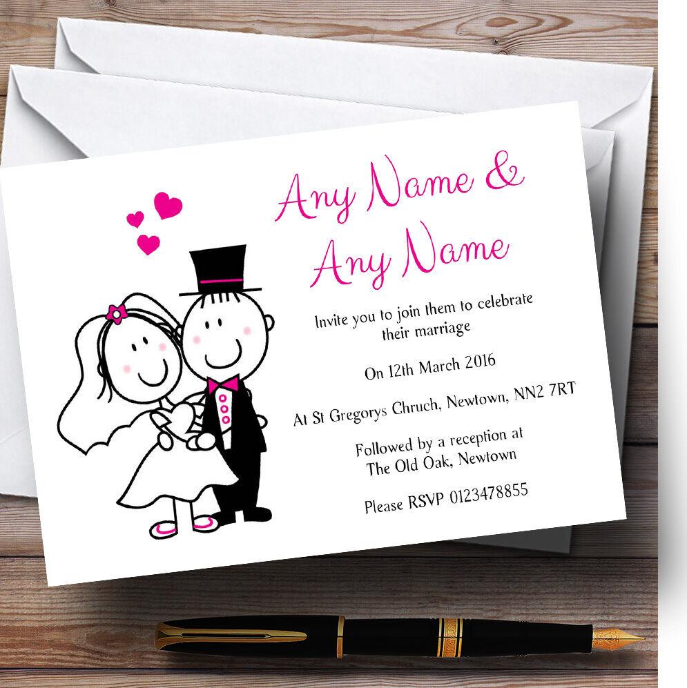 Mettre la réduction jusqu'au bout Les mariés mariage personnalisées invitations personnalisées mariage 740b66
