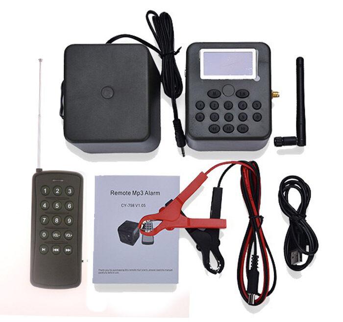Control remoto de aves de caza Llamador MP3 MP3 MP3 reproductor 50W 150dB Temporizador De Altavoz ruidoso cb9e1b
