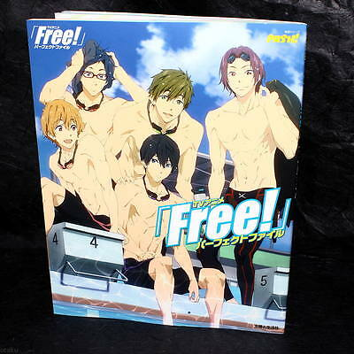 FREE! PERFECT FILE ANIME ART BOOK NEW