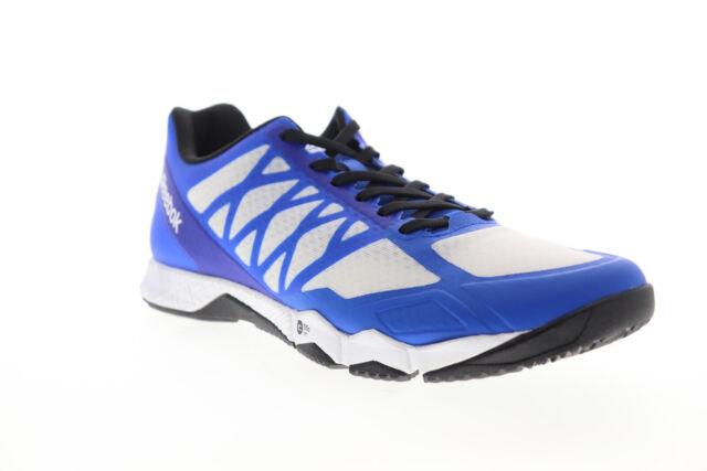 Reebok Crossfit Speed TR BD5496 Mens Blue Mesh Athletic Cross Training Shoes