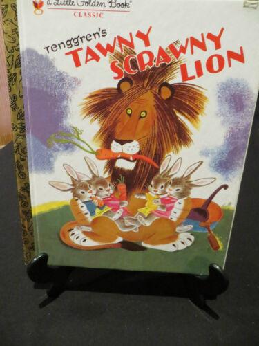 1 of 1 - LGB Little Golden Book Tenggren's Tawny Scrawny Lion HB c2008
