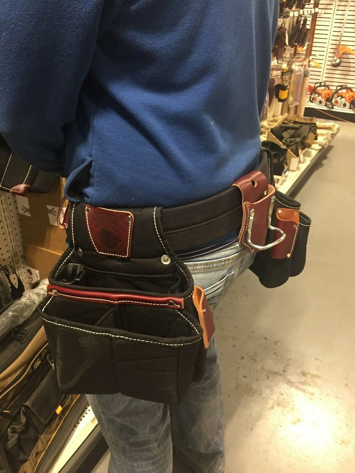 Occidental Leather 9525 (Size Medium) Finisher Tool Bag Belt Set