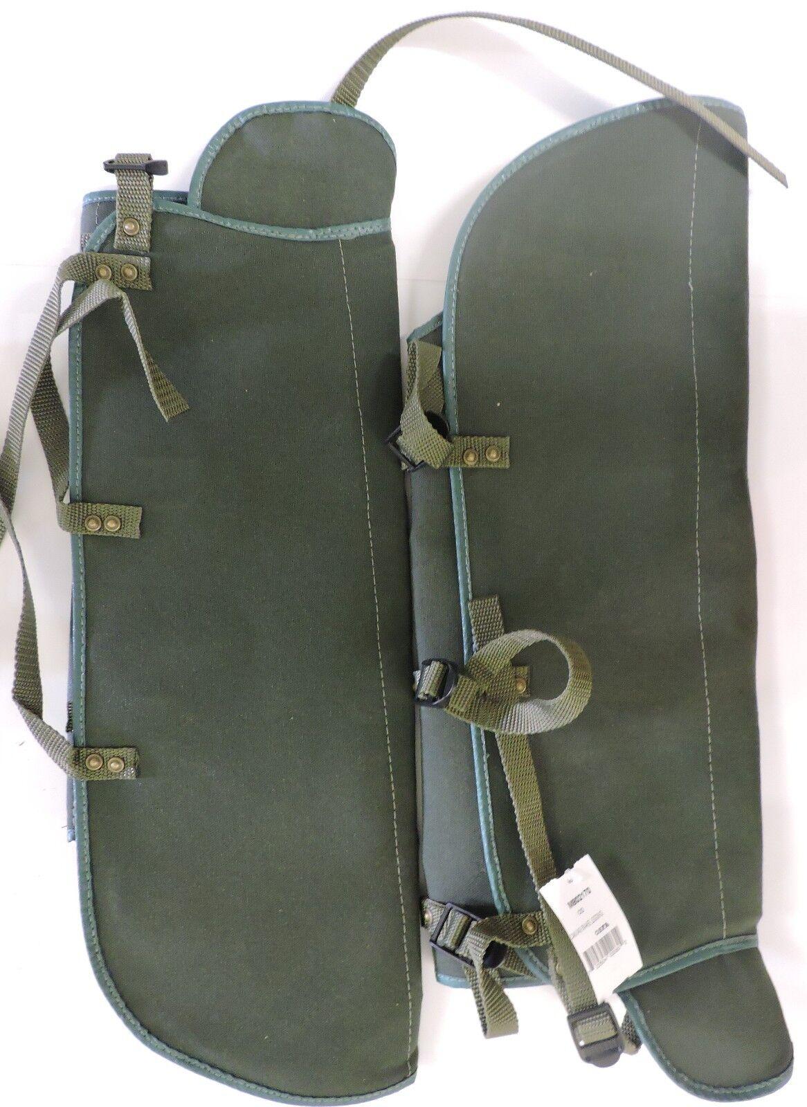 M802170 Wire Mesh Snakeproof Leggings Pair Snake Chaps Gaiters Olive 1 Pair Leggings f5f82b