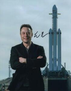 ELON MUSK SIGNED AUTOGRAPH 11X14 PHOTO - SPACEX BILLIONAIRE FOUNDER, RARE ACOA