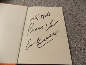 autographed book authentic tyler rose the earl campbell story