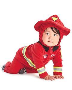 NEW Carter/'s Baby Firefighter Volunteer Fireman Halloween Costume Set 12 Months
